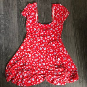 Beautiful summer mid red dress size M